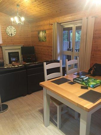 Kielder, UK: Dining/Living area
