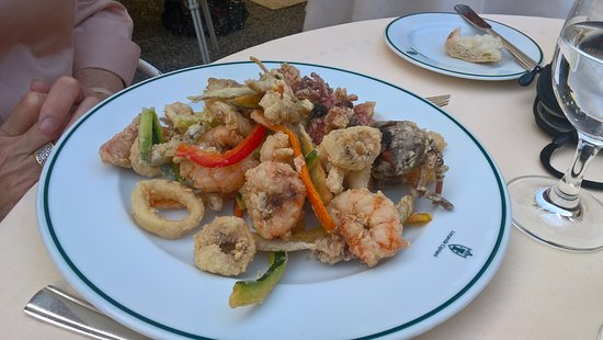Torcello, Италия: Fried mixed seafood