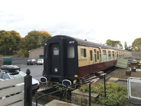 Bellingham, UK: Carriages tea room