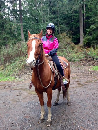 Olga, WA: Fit and healthy - horse and rider!