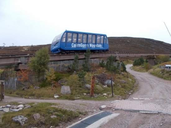 Aviemore, UK: Cairngorm Railway train