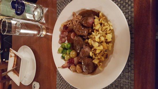 Ch teau de domont del mont entr e bild von for Restaurant domont