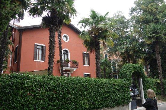 Lido di Venezia, Italia: Die Pension von außen