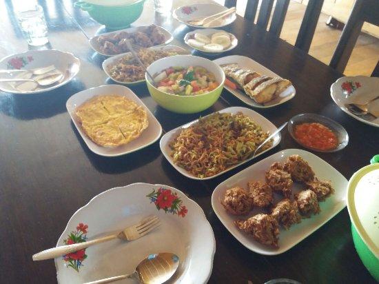 Kepulauan Togian, Indonesia: Dinner!