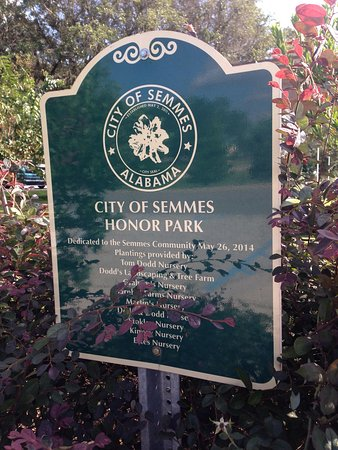Semmes Honor Park