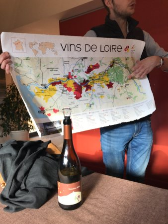 Cave Eric Louis - Vins de Sancerre: Seeing where the wine comes from