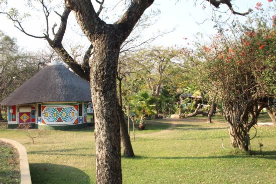 Timbavati Safari Lodge: bonito entorno y jardines