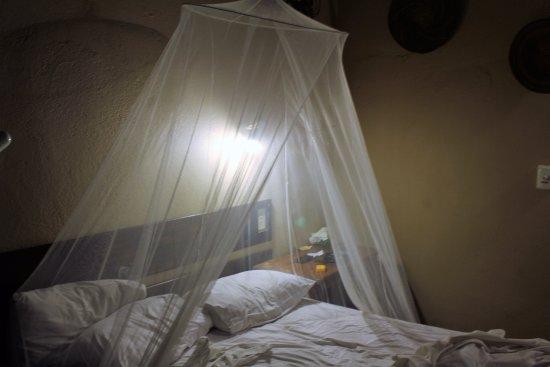 Timbavati Safari Lodge: camas cómodas con mosquitera