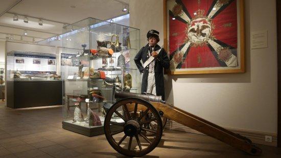 Fehrbellin Wustrau-Altfriesack, Tyskland: in der Dauerausstellung