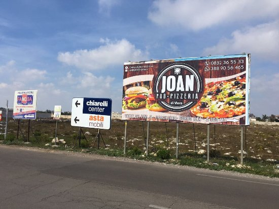 Joan\'s Billboard next to Surbo - Picture of Joan Pub ...