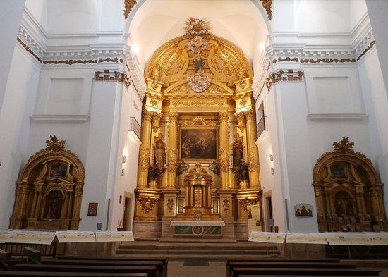 Iglesia de San Francisco Javier: Retablo