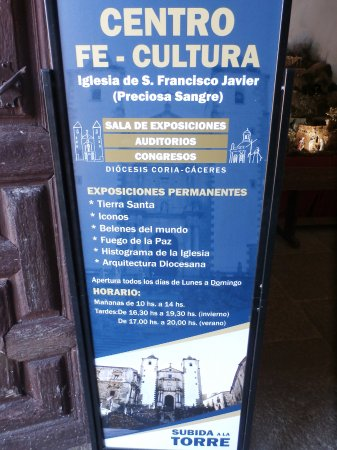 Province of Caceres, Spain: cartel