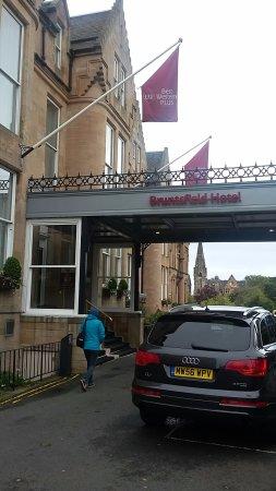 Best Western Plus Edinburgh City Centre Bruntsfield Hotel: Entrance