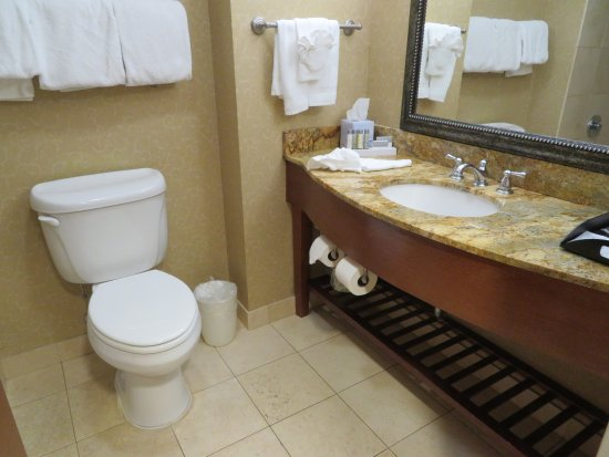 Carteret, NJ: Room was ok but a tile by the toilet looked stained