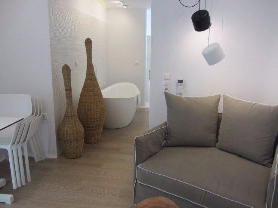 chairs table large sofa chair leading to bathroom area picture of rh tripadvisor com au