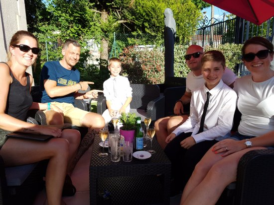 Epernay, France: des clients heureux