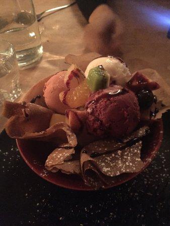 La Clusaz, France: dessert