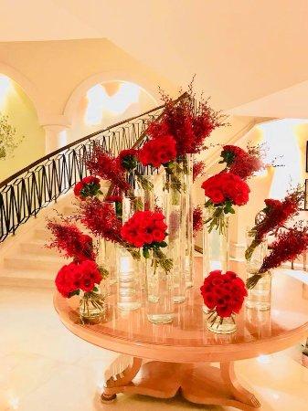entrance lobby to Splendido restaurant, Ritz Carlton JBR Dubai