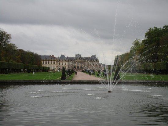 Luneville, Francia: les jardins du château le 8 octobre 2017