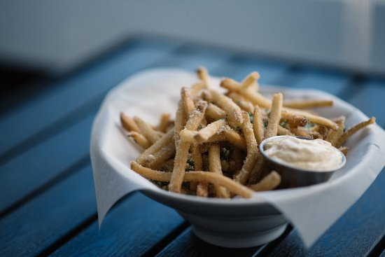 Langley City, Canada: Truffle Fries