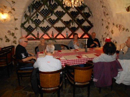 Viimsi, Estland: Lunch för resegrupp på Il Coccodrillo