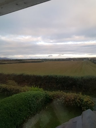 Andreas, UK: View from front bedroom at Smeale Farm Cottage