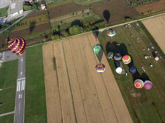 Capannori, Italien: Aerial view