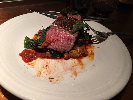 Glen Ellen, Californien: Flatiron steak