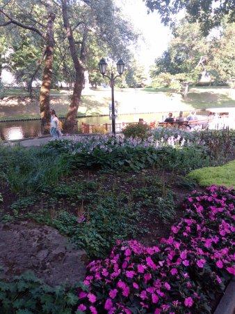 Vermanes Garden Park: вид на канал