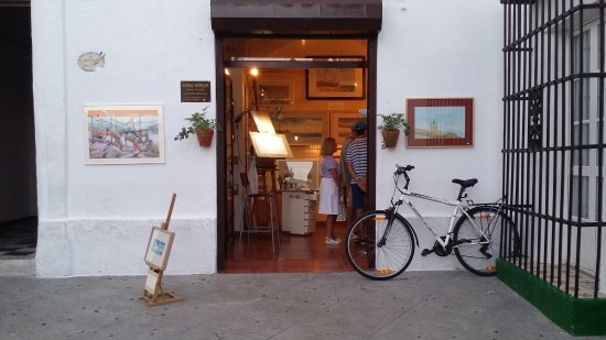 Conil de la Frontera, สเปน: ESTUDIO ACUARELA / WATERCOLOR STUDIO