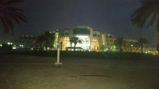 Mirfa, Uni Emirat Arab: صورة الفندق من البحر