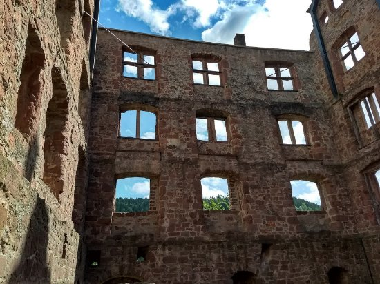 Calw, Tyskland: Ruins of the ancient abbey