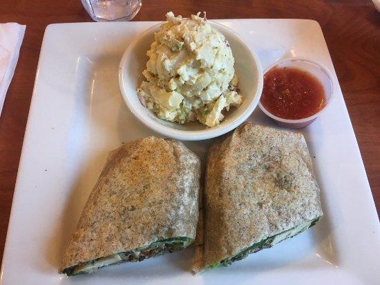 Port Saint Lucie, FL: Grilled Chicken & Quinoa Wrap w/Red Skin Potato Salad