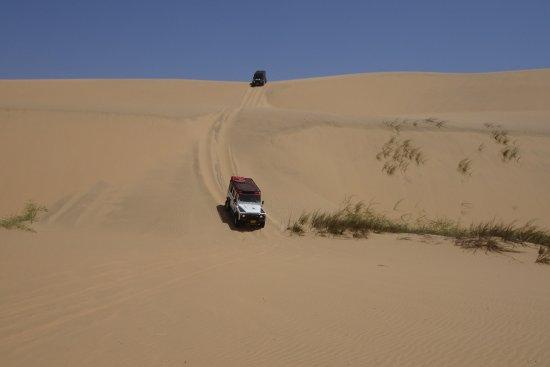 Walvis Bay, Namibia: Roller coaster in the desert