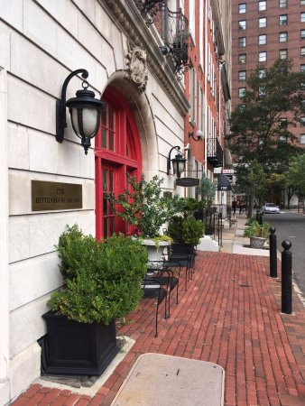 Rittenhouse 1715, A Boutique Hotel : Street view of Rittenhouse 1715