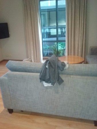 Bedford Park, Australia: Lounge area bungalow 27