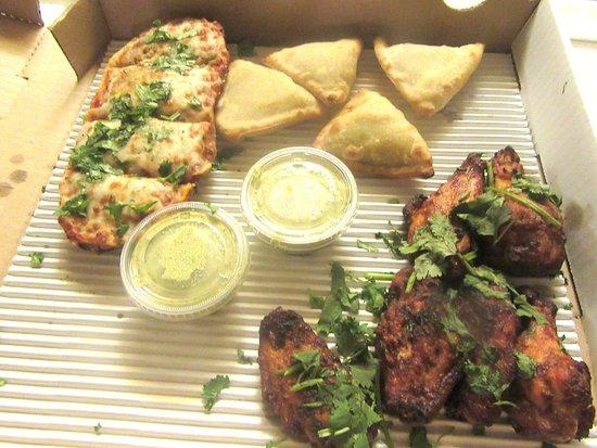 มิลพีทัส, แคลิฟอร์เนีย: Pakors an Chicken Wings, Parktown Pizza Compnay, Milpitas, CA