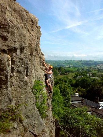 Llanberis, UK: Rock climbing in snowdonia