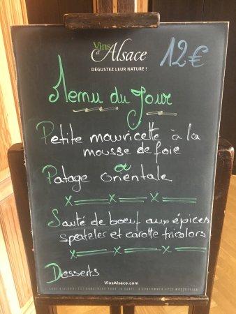 Ostheim, Francia: Lunch Deal