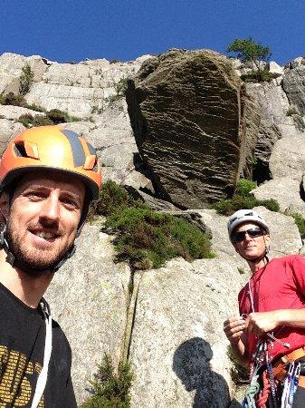 Llanberis, UK: Rock climbing, Ogwen Valley, North Wales