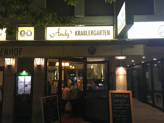 Andy S Krablergarten Munchen Restaurant Bewertungen