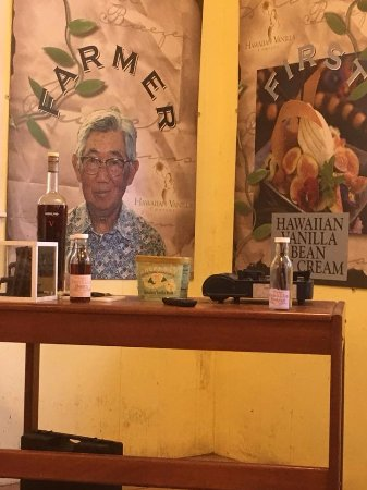 Paauilo, Hawái: dining area