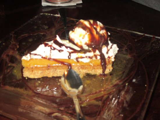 Fire Side Inn - Georges' Grill: A Maracuya Dessert - So flavorful and simply scrumptious!