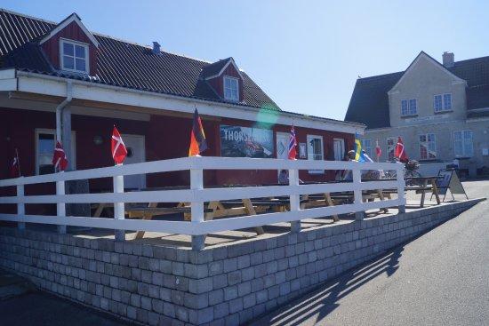 Laesoe Island, الدنمارك: der leckerste Fischladen