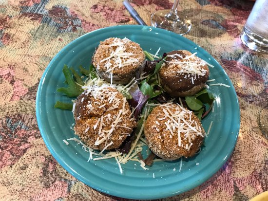 Maiden Rock, WI: Stuffed Mushrooms