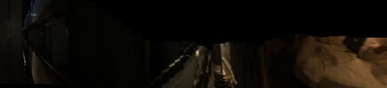 Lignan-De-Bordeaux, França: Pano shot length of ship. Are you really going to pay $$ to see nothing day or night but the nex