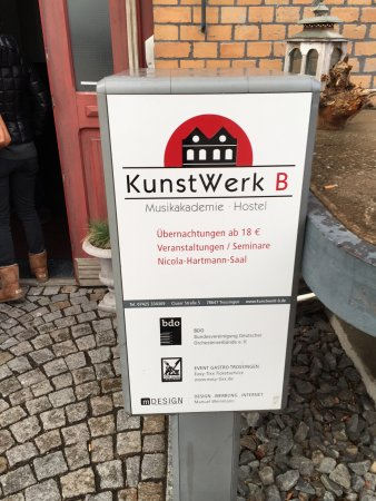 Trossingen, Alemania: Eingangsbereich!