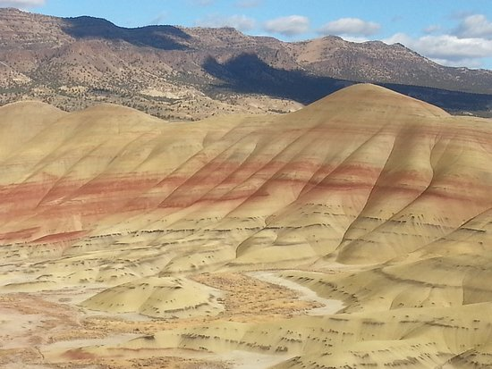 Prineville, Oregón: Painted Hills Outlook