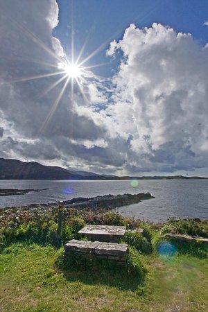 Kenmare, Ireland: schöne Aussichten gibt es ohne Ende ...