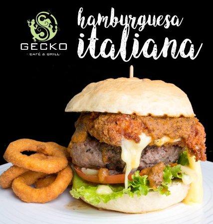 Provincia de Limón, Costa Rica: Hamburguesa Italiana / Italian Burguer